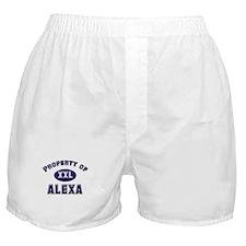 Property of alexa Boxer Shorts