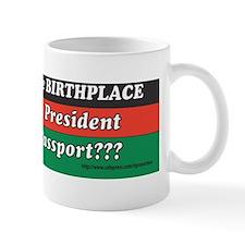 Obama Birthplace ? Mug