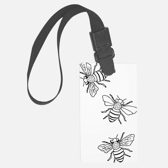 Honey Bees Luggage Tag