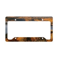 Low clouds License Plate Holder