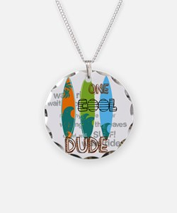 Surfing art Necklace