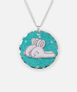 bunny_badge Necklace
