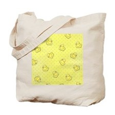 flipflop_yellow Tote Bag