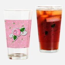 rosebud_badge Drinking Glass