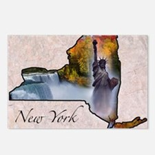 NewYork Postcards (Package of 8)