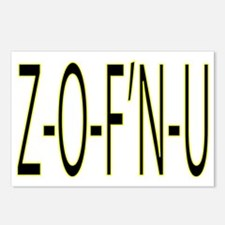 zofnu.eps Postcards (Package of 8)