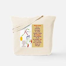 Friendly stranger-TY2 Tote Bag
