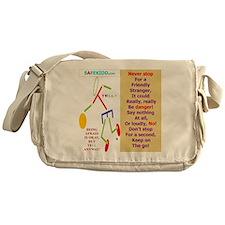 Friendly stranger-TY2 Messenger Bag