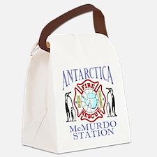 CPAntarPenColor Canvas Lunch Bag