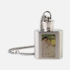 A Childs Book Of Old Verses009 Flask Necklace