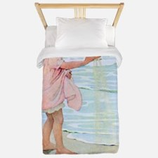 A Childs Book Of Old Verses007x Twin Duvet