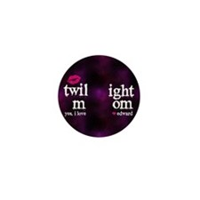 Twi Mom Pink FF Mini Button