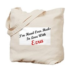 In Love with Ezra Tote Bag
