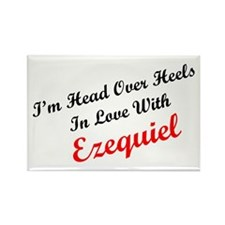 In Love with Ezequiel Rectangle Magnet
