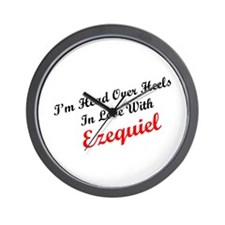 In Love with Ezequiel Wall Clock