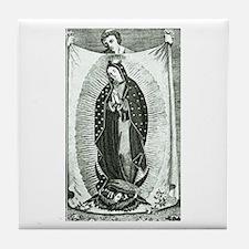 Virgin of Guadalupe - Juan Diego Tile Coaster