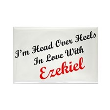 In Love with Ezekiel Rectangle Magnet