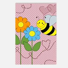 beeflowersflipflops Postcards (Package of 8)