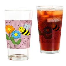 beeflowersflipflops Drinking Glass