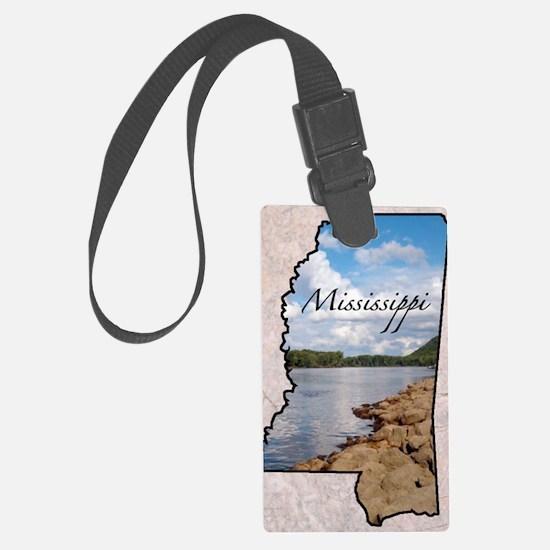 Mississippi Luggage Tag