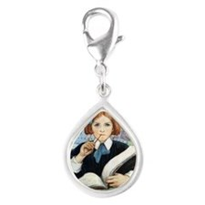 SEVEN AGES- JWS013 Silver Teardrop Charm