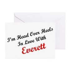 In Love with Everett Greeting Cards (Pk of 10)