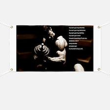 Fitness poster Banner