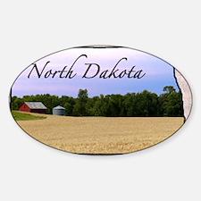 North Dakota Sticker (Oval)
