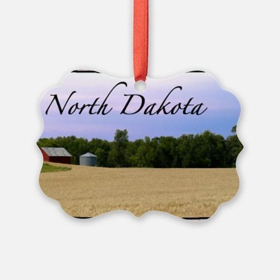 North Dakota Ornament