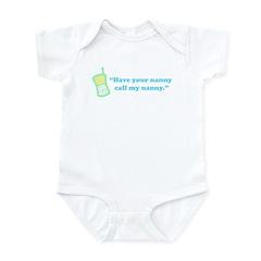 Call My Nanny Infant Bodysuit