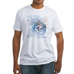 Stop Global Warming Fitted T-Shirt