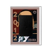 obama 2012 face Picture Frame