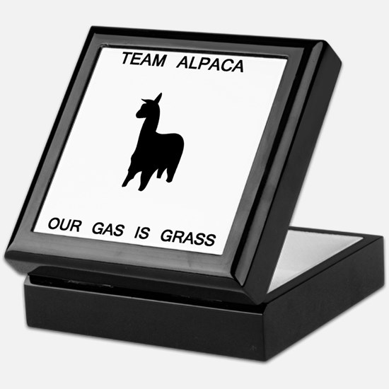 alpaca_grass.GIF Keepsake Box