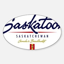 Saskatoon Script W Decal