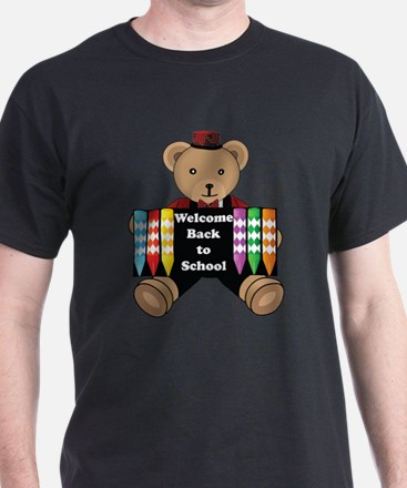 Back to School Bear T-Shirt