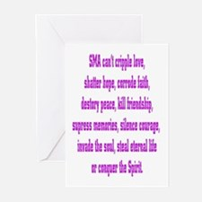 SMA Can't... Greeting Cards (Pk of 10)
