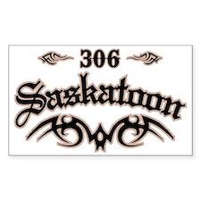 Saskatoon 306 Decal