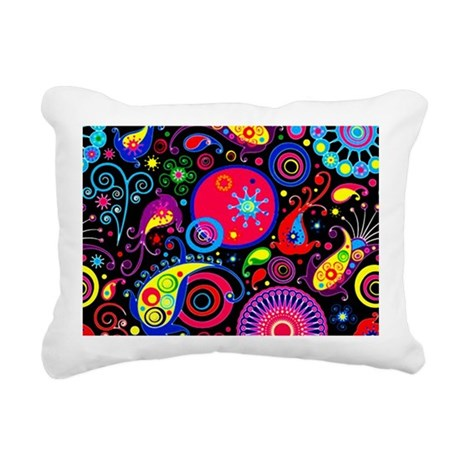 9.5x8_psycho Rectangular Canvas Pillow