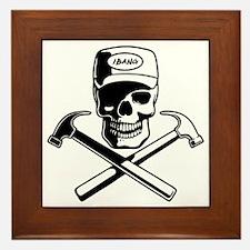 carpenter-pirate-T Framed Tile