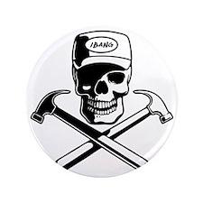 """carpenter-pirate-T 3.5"""" Button"""