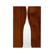 Wood Rectangle Magnet