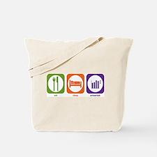 Eat Sleep Actuarials Tote Bag