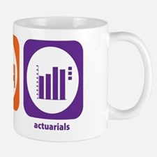 Eat Sleep Actuarials Mug
