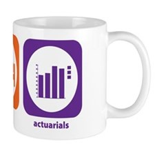 Eat Sleep Actuarials Small Mug