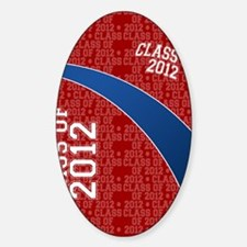 flip_flops_class_of_2012_01 Sticker (Oval)