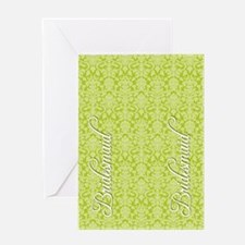 flip_flops_2_bridesmaid_02 Greeting Card