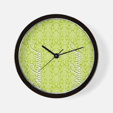 flip_flops_2_bridesmaid_02 Wall Clock