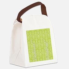 flip_flops_2_bridesmaid_02 Canvas Lunch Bag