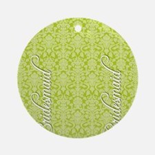 flip_flops_2_bridesmaid_02 Round Ornament