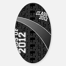 flip_flops_class_of_2012_02 Sticker (Oval)